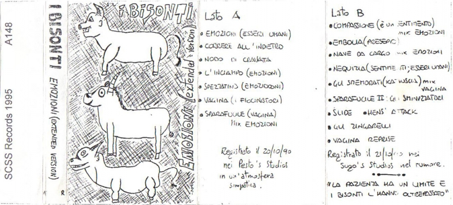 a148 i bisonti: emozioni extended version 1990